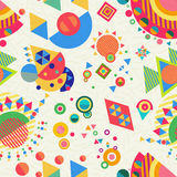 Seamless pattern geometry background colorful Royalty Free Stock Photography