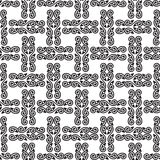 Seamless pattern for gift wrapper Stock Images