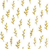 Seamless pattern with gold glitter. Element. Seamless pattern with cute elements for your design, textile, fabric, banner, card Stock Photo