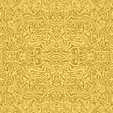 Seamless pattern of gold lines. Marbled style. The pattern for the fabric, cover, book, magazine, bags Stock Images