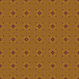 Seamless pattern gold purple Royalty Free Stock Photography