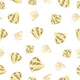 Vector crystals set royalty free illustration