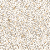 Seamless pattern with golden indian elements Stock Image