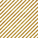 Seamless pattern with golden stripes. Royalty Free Stock Photography