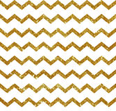 Seamless pattern with golden stripes. Stock Photos