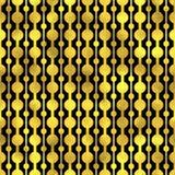 Seamless pattern. Golden vector fashion background Stock Photos
