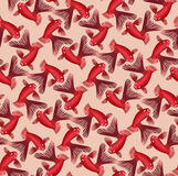 Seamless pattern with goldfish Royalty Free Stock Photos