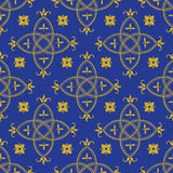 Seamless pattern in the Gothic style Royalty Free Stock Image