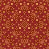 Seamless pattern in the Gothic style Royalty Free Stock Images
