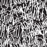 Seamless pattern graffiti Royalty Free Stock Photography