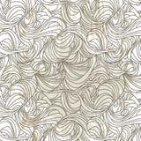 seamless pattern of graffiti waves Stock Image
