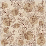 Seamless pattern with grape branches Royalty Free Stock Images