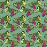 Seamless pattern, grape theme Stock Photos