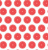 Seamless pattern with grapefruits. Vector seamless pattern with grapefruits. Vector illustration. Design element for  for cafe or restaurant or web and print Stock Images