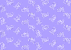 Seamless pattern with grapes Royalty Free Stock Image