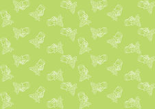 Seamless pattern with grapes Stock Photography
