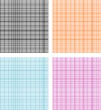 Graph paper. Seamless pattern with graph paper Stock Photography