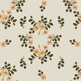 Seamless pattern,Graphic design, Cassia flower in abstract style on black background. For fabric.paper Stock Photos