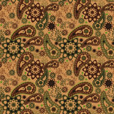 Seamless pattern graphic ornament. Floral stylish background. Re Stock Image