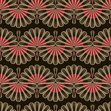 Seamless pattern graphic ornament. Floral stylish background. Ve Royalty Free Stock Images