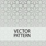 Seamless pattern on gray background form flower royalty free illustration