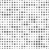 Seamless pattern with gray ovals on a white background. Stock Images
