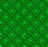 Seamless pattern green abstract shape color background Royalty Free Stock Image