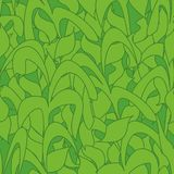 Seamless pattern, green camouflage reed leaves for fabrics, Wallpapers, tablecloths, prints and designs. Abstract background royalty free illustration