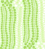 Seamless pattern with green leaves Royalty Free Stock Photos