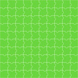 Seamless pattern of green puzzle Royalty Free Stock Photo