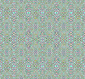 Seamless pattern green red Stock Images