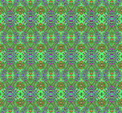 Seamless pattern green red Stock Photos