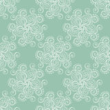 Seamless pattern green. Seamless pattern in soft green colour Royalty Free Stock Images