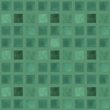 Seamless pattern with green squares bricks Royalty Free Stock Photo