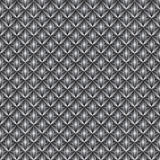 Seamless pattern with grey rhombuses and crystals. Royalty Free Stock Photos