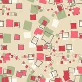 Seamless pattern grunge cubes. Seamless pattern grunge cubes vintage. Vector illustration Royalty Free Stock Photo