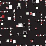 Seamless pattern grunge cubes. Seamless pattern grunge cubes vintage. Vector illustration Royalty Free Stock Image