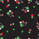 Seamless pattern grunge cubes. Seamless pattern grunge cubes vintage. Vector illustration Stock Photos