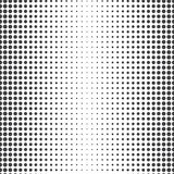 Seamless pattern, halfton effect Stock Images