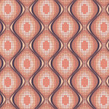 Seamless pattern with halftone Stock Photos
