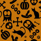 Seamless pattern for halloween Royalty Free Stock Photography