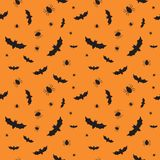 Seamless pattern for Halloween.  Stock Photos
