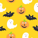 Seamless Pattern. Halloween. Background Design Royalty Free Stock Images