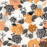 Seamless pattern for halloween. Royalty Free Stock Image