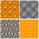 Seamless pattern for Halloween Stock Photo