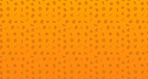 Seamless pattern of halloween, Halloween icons pattern. Eps 10 royalty free illustration