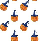 Seamless pattern for Halloween. Hand drawing. Vector. vector illustration