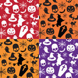 Seamless pattern halloween Royalty Free Stock Photos