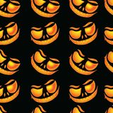 Seamless Pattern for Halloween stock illustration