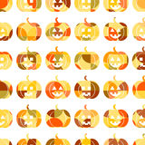 Seamless pattern  for Halloween Stock Image